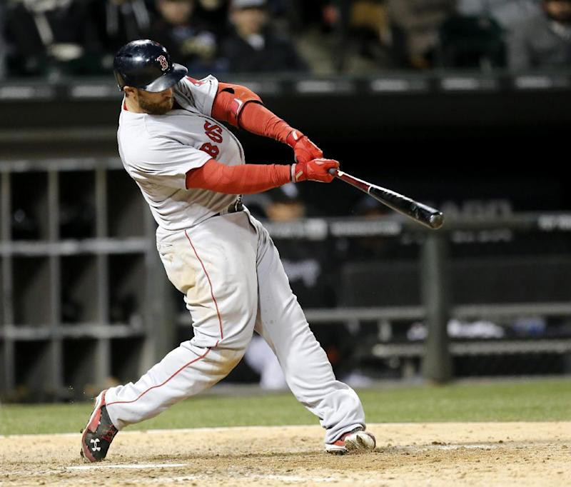 Bradley leads Red Sox past White Sox in 14 innings