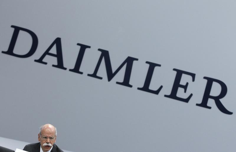 Daimler AG CEO Zetsche attends company's annual news conference in Stuttgart