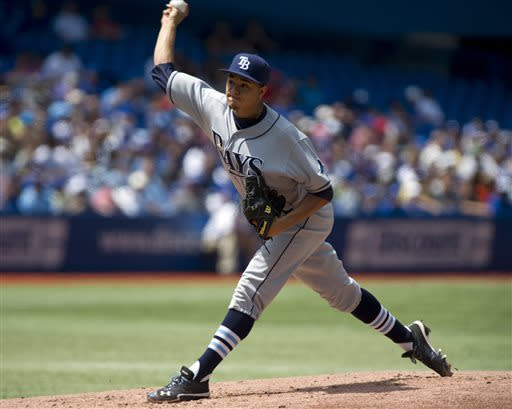 Rays beat Blue Jays 4-3 to complete sweep