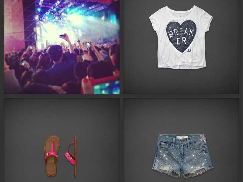 abercrombie & fitch summer festival