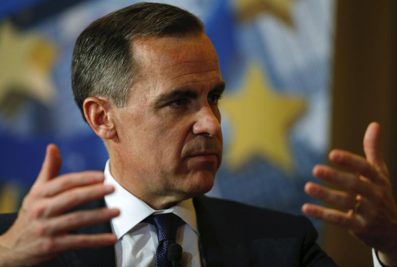 "Carney, governor of the Bank of England speaks during the Bundesbank Banking Congress ""Symposium on Financial Stability and the Role of Central Banks"" in Frankfurt"