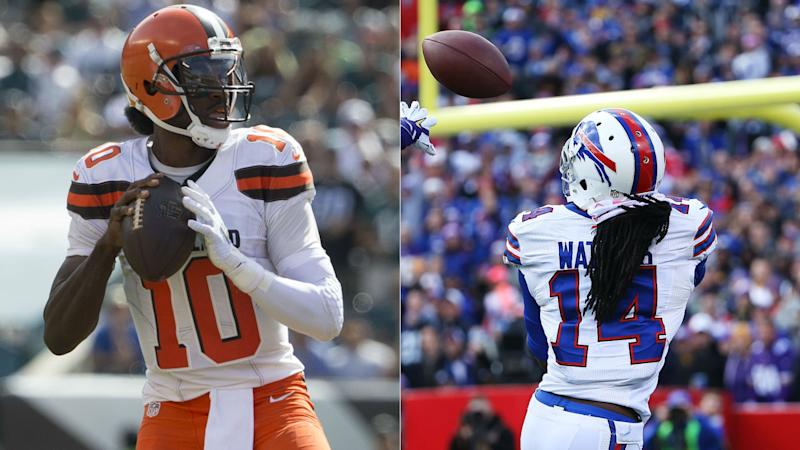 RG3 returns to practice with Browns