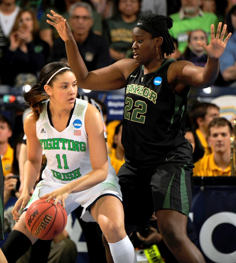 Notre Dame's injured Achonwa out for Final Four