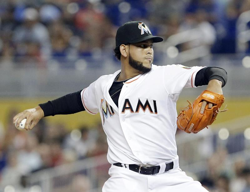 Marlins' Alvarez is winning with theatrical flair
