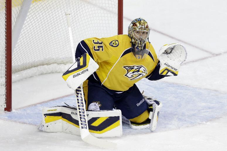 Predators say Rinne's condition is improving