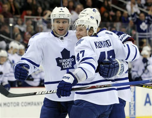 Reimer makes 27 saves in Leafs' win over Devils