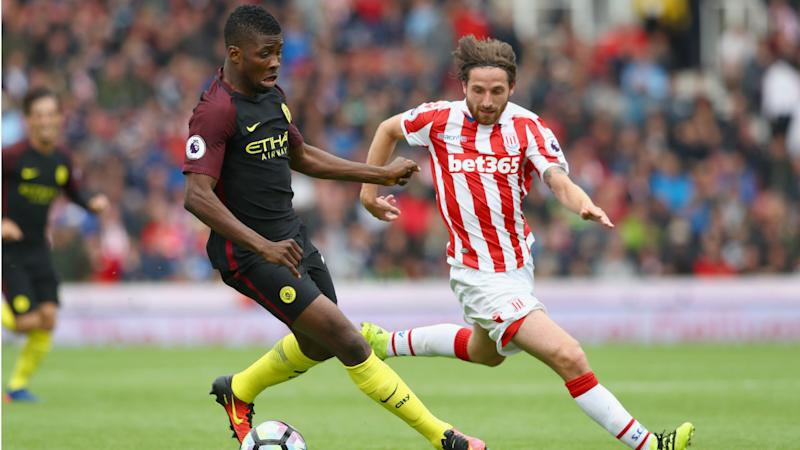 Iheanacho gets assist as Manchester City grind Stoke City