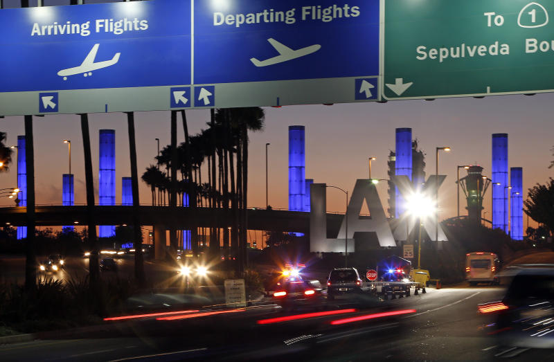 LAX suspect remains heavily sedated, under guard