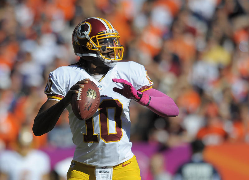 No 'Hawaiian Punch guy' in NFL for RG3, Redskins
