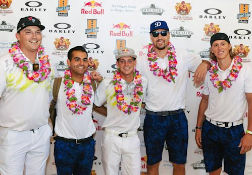 Klay Thompson, Kelly Slater, Rob Machado and 400 Individuals Supported Ryan Sheckler
