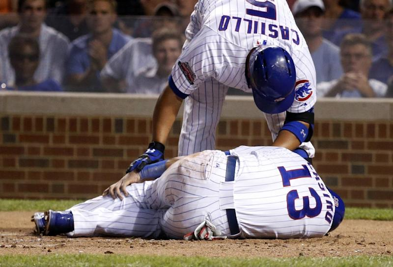 Cubs SS Castro expected to miss rest of season