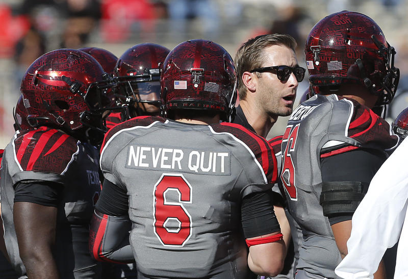 Texas Tech aims to end skid against No. 4 Baylor