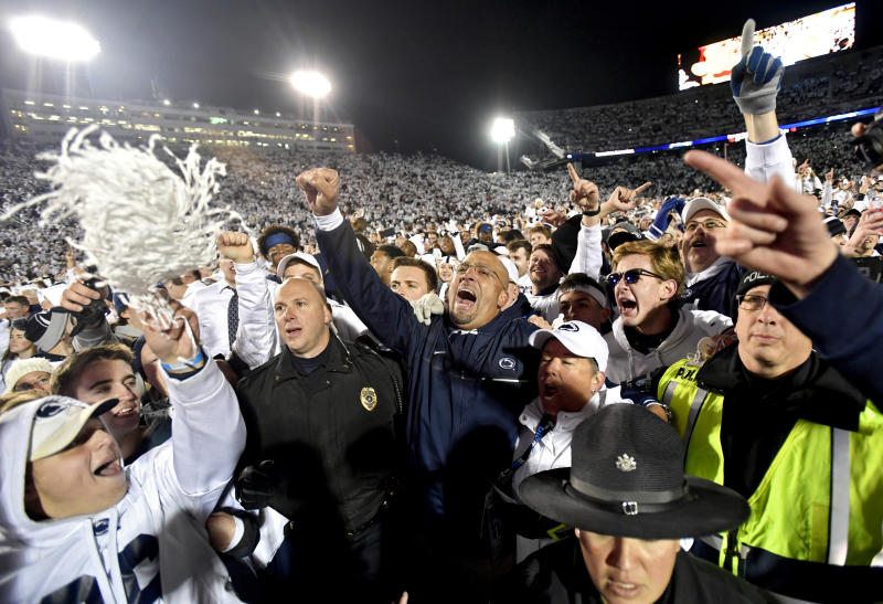 Penn State upset perspective-Nittany Lions beat Ohio State