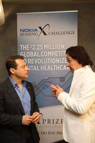 Nokia Sensing X CHALLENGE -- Searching the World for the Most Powerful Digital Health Sensors to Transform the Healthcare Industry
