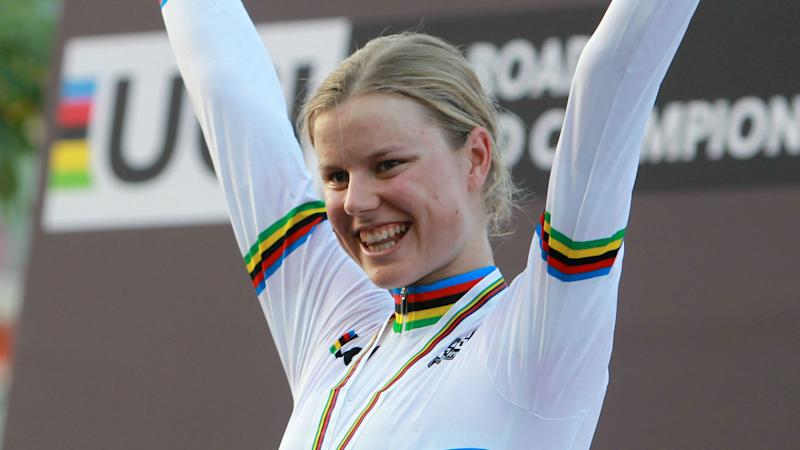 Dane Dideriksen wins women's world road race