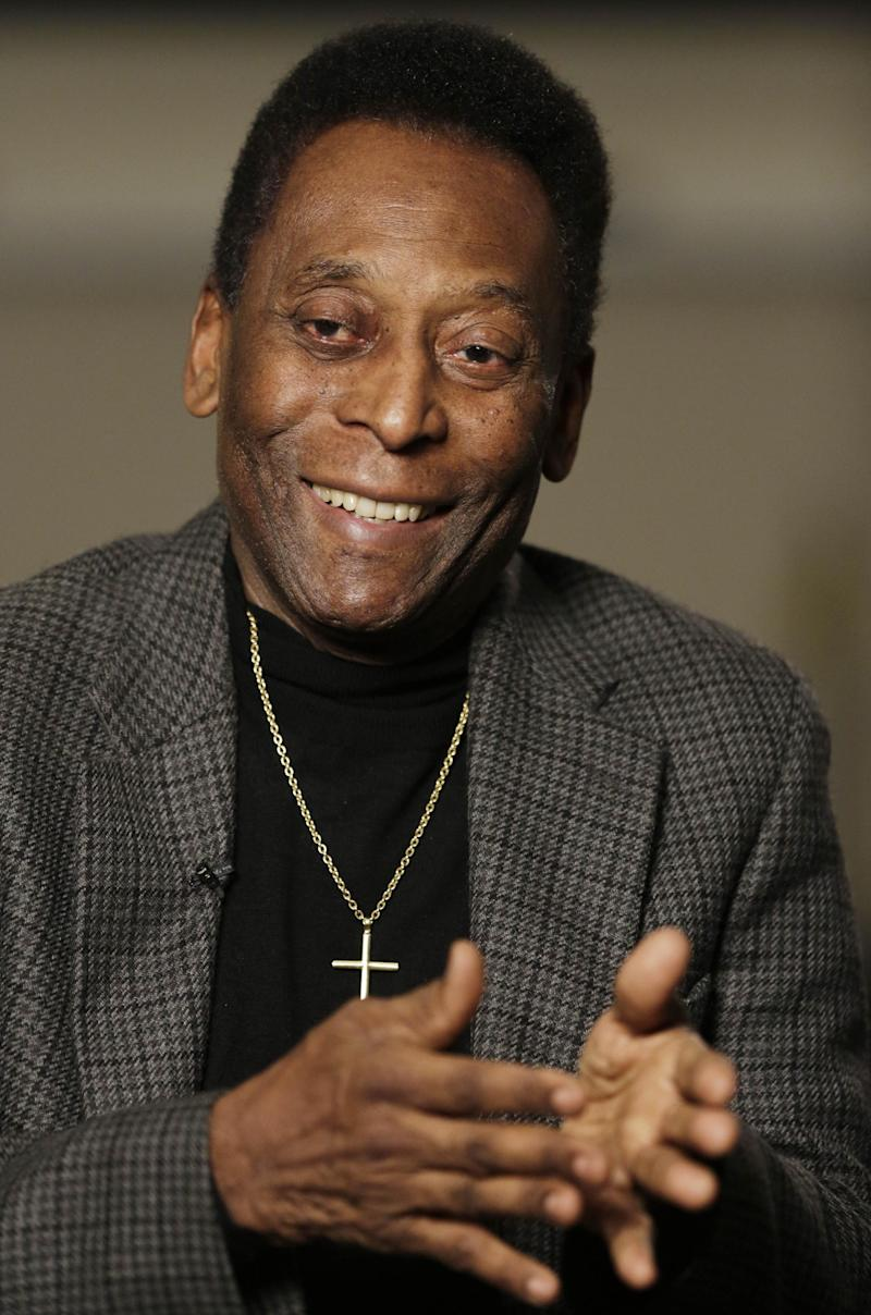 AP Interview: Pele ready for World Cup in Brazil