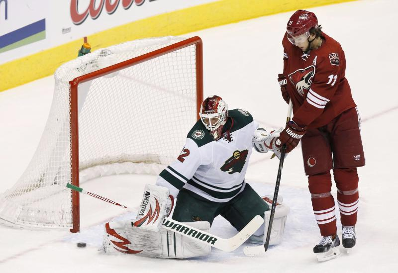 Wild beat Coyotes 4-1 for 4th straight win