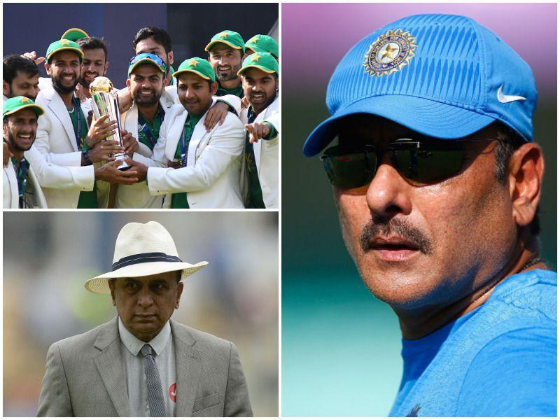 ICC Champions Trophy final: How Gavaskar, Shastri sent Pakistan's blood boiling