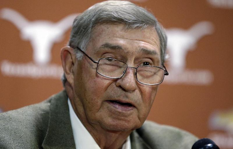 Texas AD Dodds says he's ready to retire