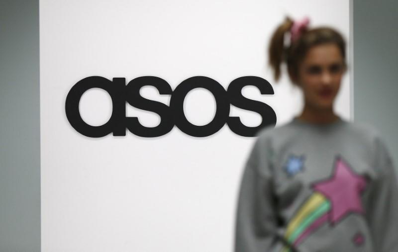 ASOS profit rises; upbeat on sales in 2017