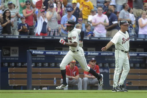 Braves top Nationals 6-3, stretch lead in NL East