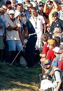 Johnson, officials share blame on ruling at PGA