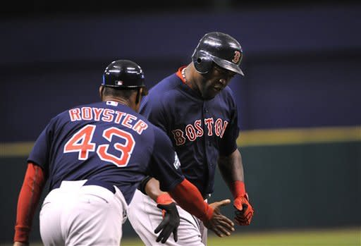 Ortiz hits 23rd homer, Red Sox beat Rays