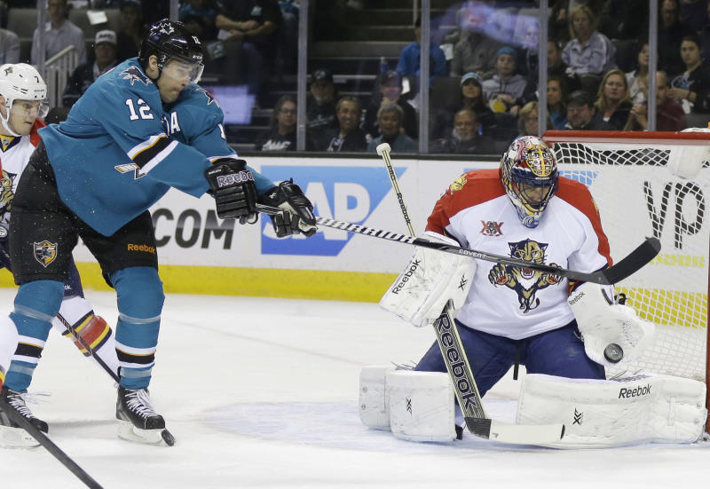 Panthers end Sharks' 6-game streak with 3-2 win