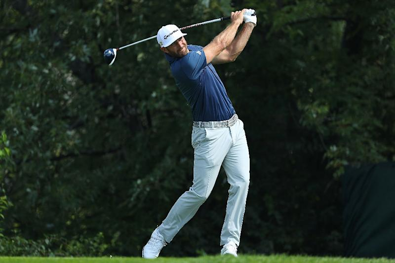 Paul Casey denied by Dustin Johnson at the BMW Championship