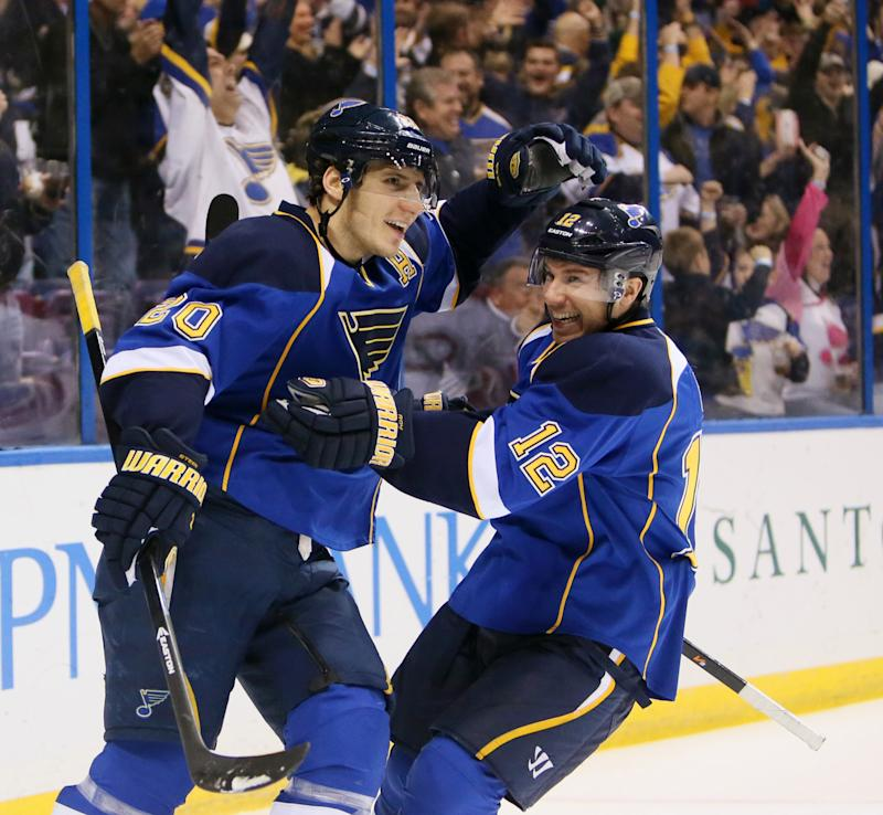 Blues too much for Canadiens 5-1