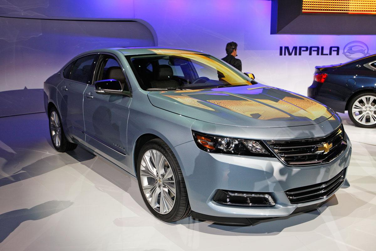 No American car model offers a more woebegone presence on American roads today than the Chevrolet Impala. Forced to remain in production by General Motors' bankruptcy, the present Impala is the last remnant of the days when GM's cost-cutters oversaw vehicles that doubled as rolling sleeping pills. The bigger, more handsome, more efficient 2014 Chevrolet Impala unveiled at the New York Auto Show is at least eight months away -- but will come not a moment too soon.