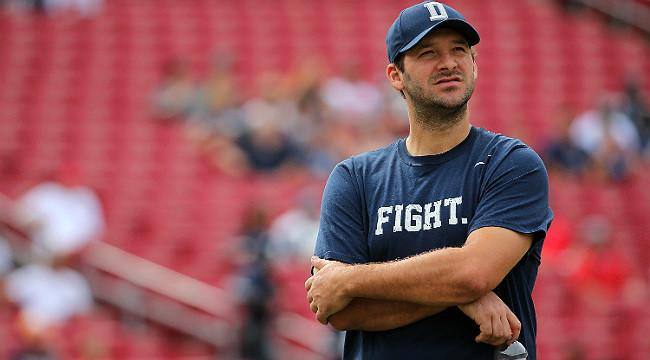 Tony Romo Has Broken Bone in His Back, Is Out Indefinitely