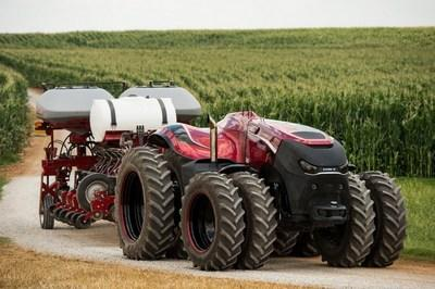 Tractor for Modern Farm Features Everything But the Farmer