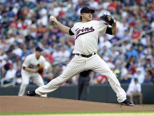 Correia goes six innings as Twins beat Indians 3-2