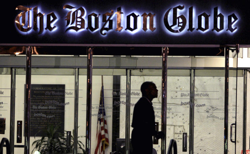 NY Times again prepares to sell Boston Globe