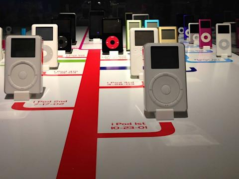 iPod Timeline apple pop up museum in atlanta