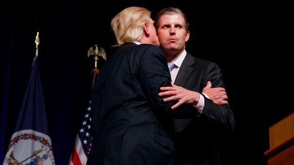 Eric Trump Already Managed to Fuck Up Election Day
