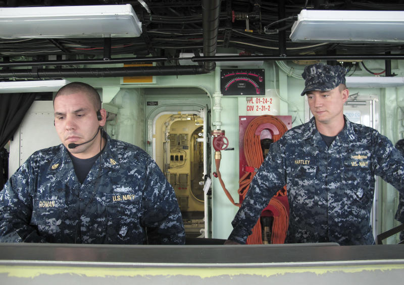 Navy sends new ship to Singapore amid budget cuts