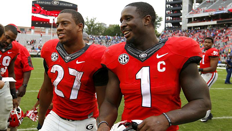 Nick Chubb, Sony Michel to remain at Georgia for senior seasons