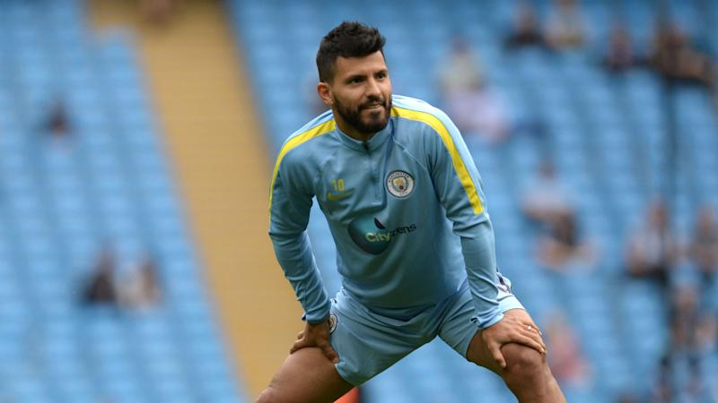 ManCity striker Sergio Aguero charged by the FA & Could miss Manchester Derby