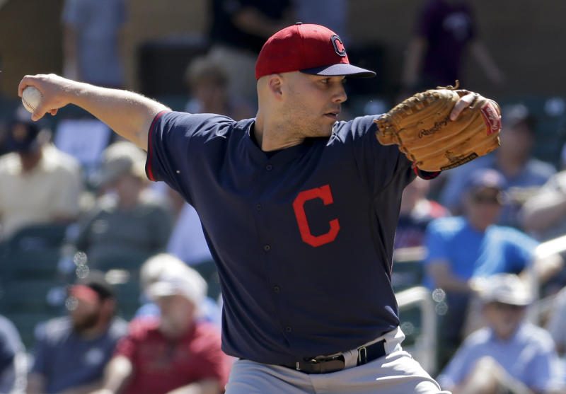 Masterson throws 4 no-hit innings in Indians win