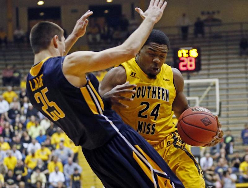 Southern Miss tops Toledo 66-59 in NIT