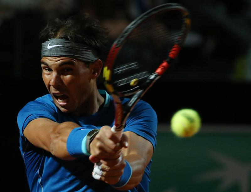 Nadal holds off strong Murray challenge in Rome