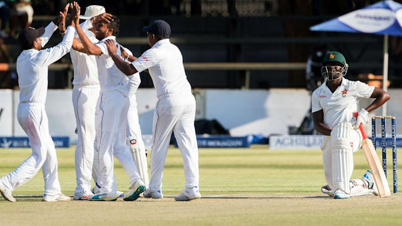 Herath claims two wickets as Zimbabwe limp to 210-5