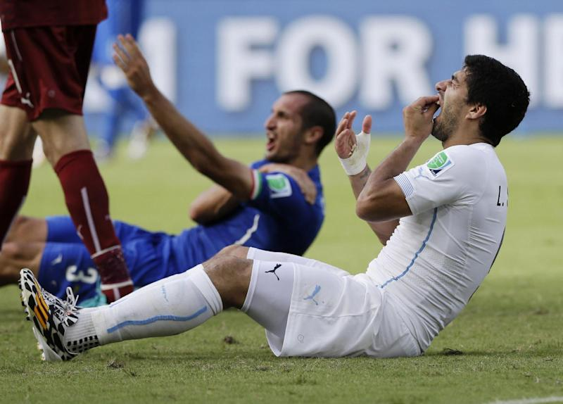 CAS upholds Suarez's 4-month playing ban