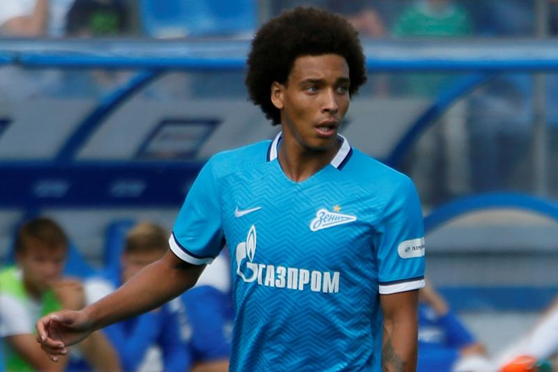 Axel Witsel commits his future to Zenit St Petersburg