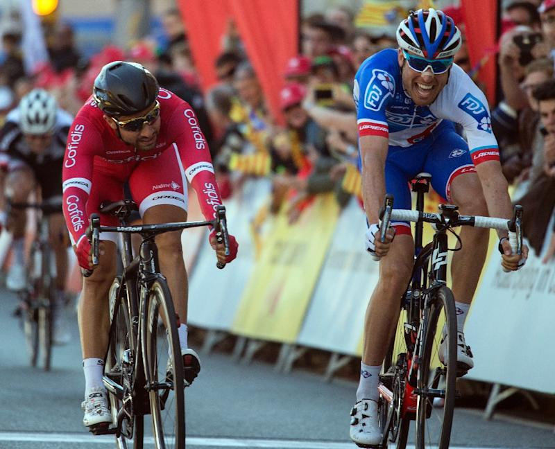 Volta a Catalunya: Davide Cimolai wins opening stage in sprint finish