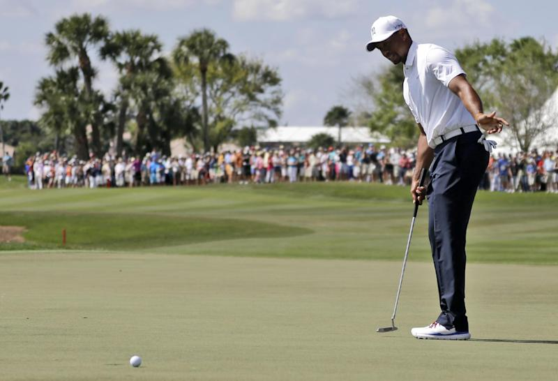 Woods withdraws in final round of Honda Classic