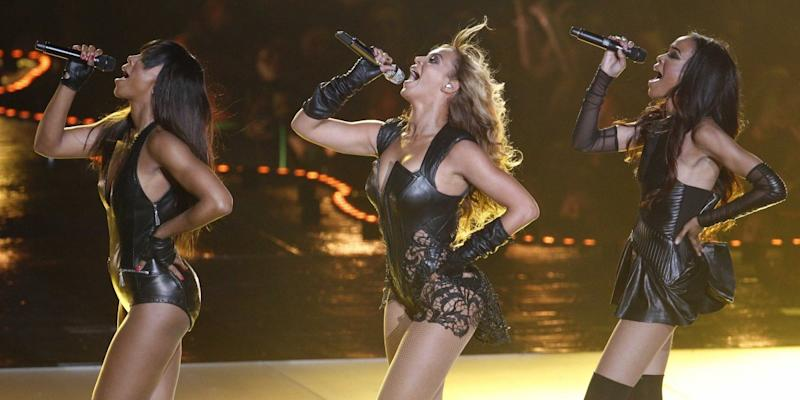 Beyonce with Destiny's Child