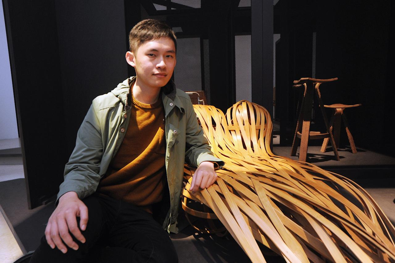 MILAN, ITALY - APRIL 08:  Designer Feng Cheng Tsung poses at Triennale di Milano during 2013 Milan Design week on April 8, 2013 in Milan, Italy.  (Photo by Pier Marco Tacca/Getty Images)